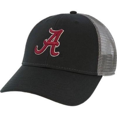 リーグレガシー League-Legacy メンズ キャップ トラッカーハット 帽子 Alabama Crimson Tide Lo-Pro Adjustable Trucker Black Hat