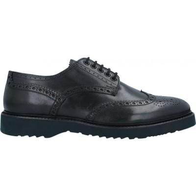 カルピエッレ CALPIERRE メンズ シューズ・靴 laced shoes Black