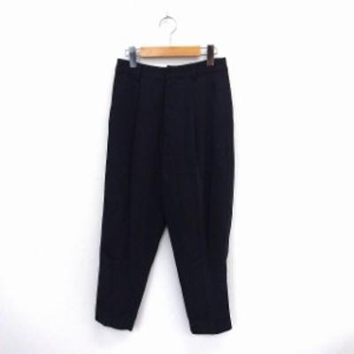 【中古】マーキュリーデュオ MERCURYDUO パンツ スラックス ロング ジップフライ ポケット S ブラック /ST34