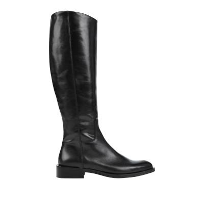ZINDA ブーツ ブラック 37 革 ブーツ