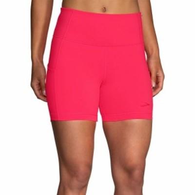 ブルックス Brooks レディース ショートパンツ ボトムス・パンツ Method 5 Shorts Fluoro Pink