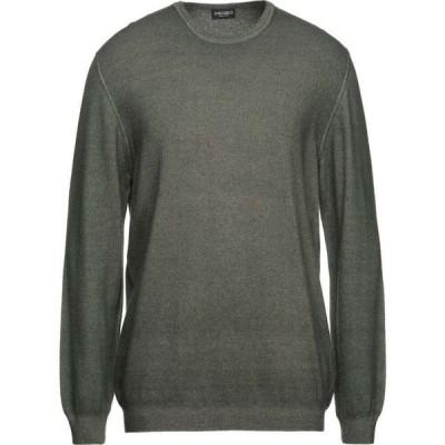 ザニエリ ZANIERI メンズ ニット・セーター トップス Sweater Military green
