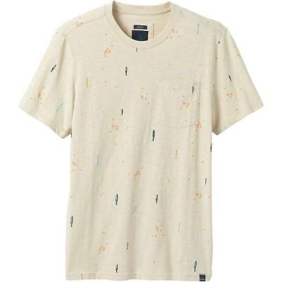 プラーナ メンズ Tシャツ トップス Prana Men's Auxi Crew - Slim