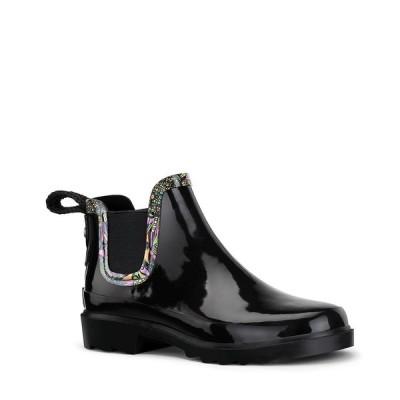 サックルーツ ブーツ&レインブーツ シューズ レディース Women's Rhyme Ankle Rainboot Black