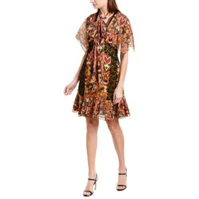 プラバルグラング レディース ワンピース トップス PRABAL GURUNG Sohawa Silk Mini Dress marigold multicolor
