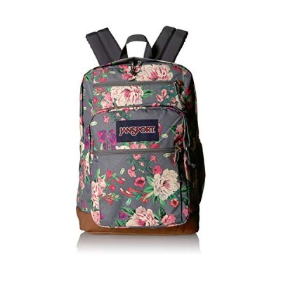 JanSport Cool Student 15-inch Laptop Backpack - School Bag, Grey Bouquet 並行輸入品