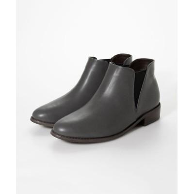 Shoe Fantasy / 晴雨兼用サイドゴアショートブーツ WOMEN シューズ > ブーツ