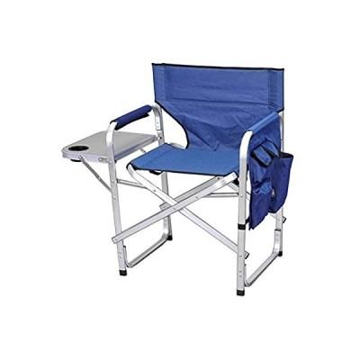 Stylish Camping SL1204BLUE Full Back Folding Director's Chair