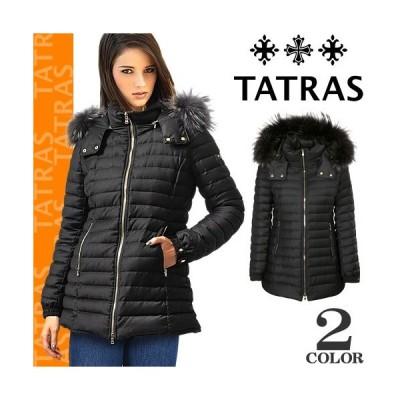 タトラス TATRAS ダウン ダウンジャケット ダウンコート プリムラ PRIMULA レディース ミドル丈 ウール ブランド きれいめ 大きいサイズ 黒 ブラック ネイビー