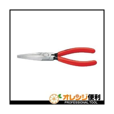 クニペックス KNIPEX ロングノーズプライヤー 140mm 3011-140 【446-7647】