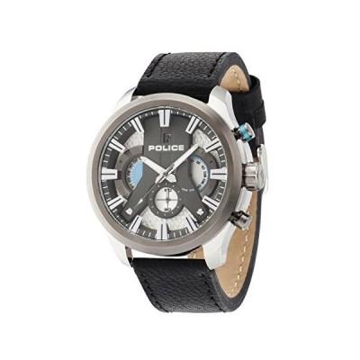 腕時計 ポリス メンズ 14639JSTU/04 POLICE Men Watch Cyclone Chronograph black P14639JSTU-04