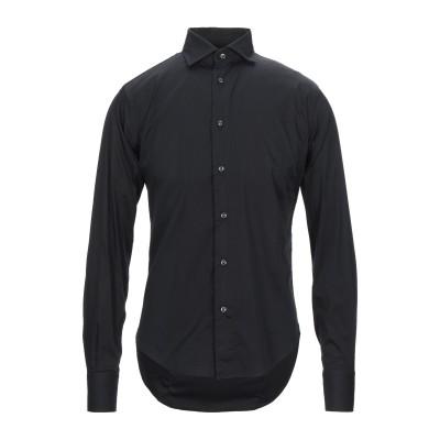 ブライアン デールズ BRIAN DALES シャツ ブラック 39 コットン 80% / ナイロン 15% / ポリウレタン 5% シャツ
