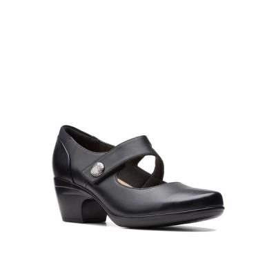 クラークス パンプス シューズ レディース Collection Women's Emily Reaya Pumps Black Leather