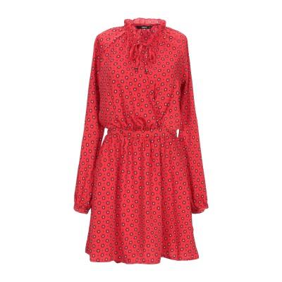 ONLY ミニワンピース&ドレス レッド 38 ポリエステル 100% ミニワンピース&ドレス