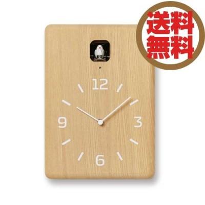 レムノス Lemnos 掛時計 鳩時計 クク CUCU ナチュラル LC10-16 NT *受注後に納期をお知らせ致します。