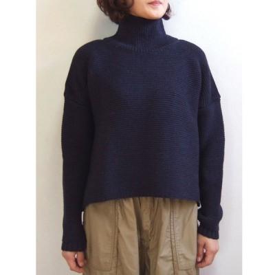 Kerry Woollen Mills ケリーウーレンミルズ Pearl Stitch Polo Neck LITE sweater セーター イギリス製 MadeinEngland KW018-015
