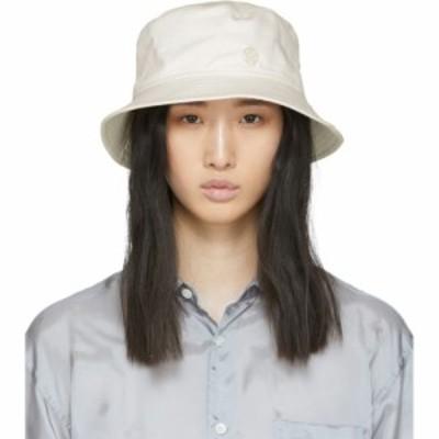 メゾンミッシェル Maison Michel レディース ハット バケットハット 帽子 Off-White Jason Bucket Hat Cream