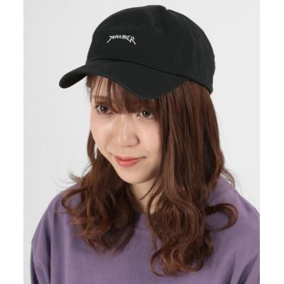 make a ray! / 【THRASHER/スラッシャー】ツイル ベースボールキャップ GONZロゴ刺繍 キャップ/ 帽子 MEN 帽子 > キャップ