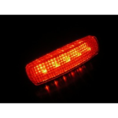 【LED車高灯】省エネ0.5W!本体一体型で取付便利 MIC 24V(アンバー/オレンジ)