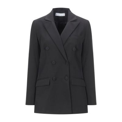 カオス KAOS テーラードジャケット ブラック 40 ポリエステル 90% / ポリウレタン 10% テーラードジャケット