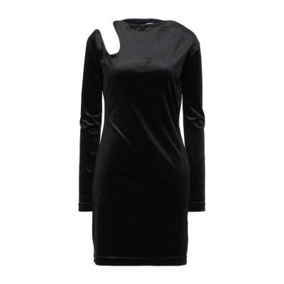 MARTA JAKUBOWSKI ミニワンピース&ドレス ブラック L ポリエステル 90% / ポリウレタン 10% ミニワンピース&ドレス