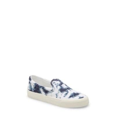 メイドウェル レディース スニーカー シューズ Sidewalk Tie Dye Recycled Canvas Slip-On Sneaker PEARL IVORY MULTI