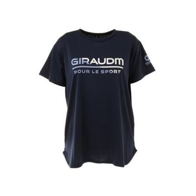 ジローム(GIRAUDM) Tシャツ レディース 半袖 ドライ 吸汗速乾 UVカット メッシュシャツ 864GM1CD6678 NVY (レディース)