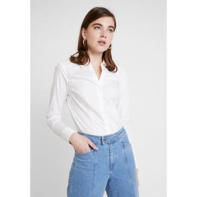 ヴェロモーダ シャツ レディース トップス VMLADY - Button-down blouse - snow white