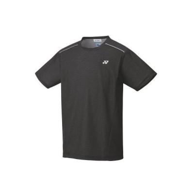 ヨネックス YONEX 10416 ユニゲームシャツ(フィットスタイル) テニス・バドミントン ウエア(ユニ) ブラック