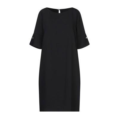 アトス ロンバルディーニ ATOS LOMBARDINI ミニワンピース&ドレス ブラック 42 ポリエステル 100% ミニワンピース&ドレス