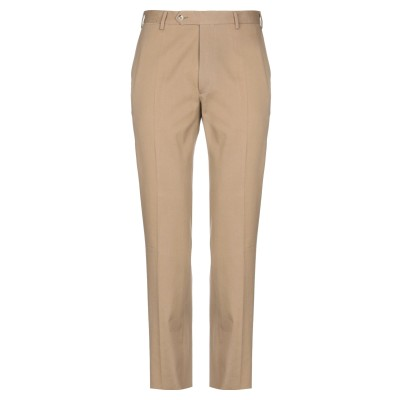LA ZETAGI パンツ キャメル 50 コットン 97% / ポリウレタン 3% パンツ