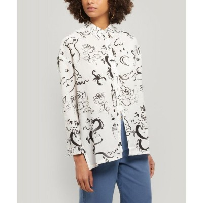パロマ ウール Paloma Wool レディース ブラウス・シャツ トップス Dragon Loose-Fit Shirt