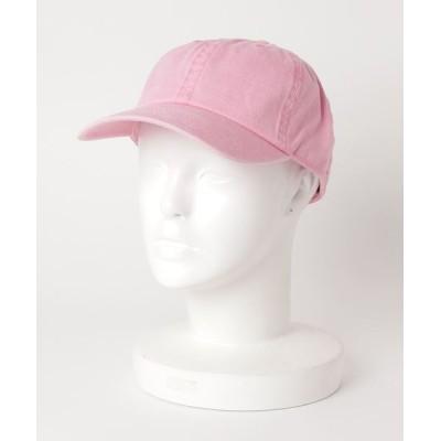 TONE / 【newhattan/ニューハッタン】PIGMENT DYED COTTON BASEBALL CAPS (UN) WOMEN 帽子 > キャップ