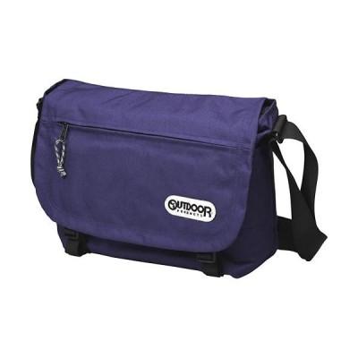 アウトドアプロダクツ(OUTDOORPRODUTS) フラップショルダー パープル 4203162 鞄 ショルダーバッグ 通勤通学 カジュアルバッグ