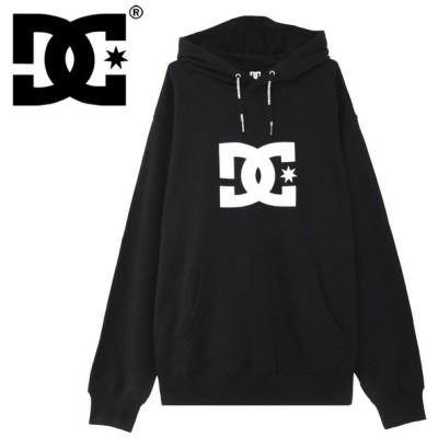 ディーシー トレーナー DC SHOES パーカー 黒色 メンズ ブラック 5420J911 ブランドロゴ