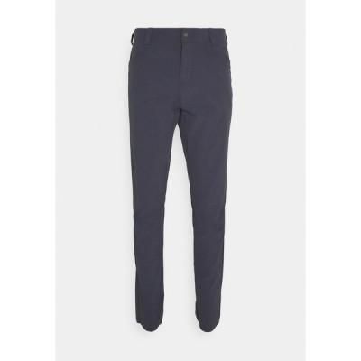 サロモン カジュアルパンツ メンズ ボトムス WAYFARER TAPERED PANTS  - Trousers - ebony
