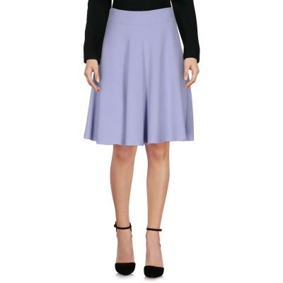 ブルマリン BLUMARINE ひざ丈スカート ライラック 42 ポリエステル 55% / レーヨン 31% / ナイロン 14% ひざ丈スカート
