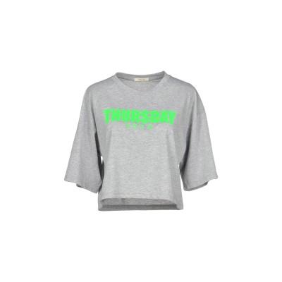 TOY G. T シャツ ライトグレー XL コットン 60% / ポリエステル 40% T シャツ