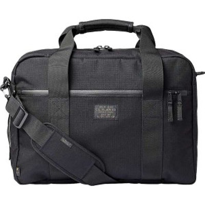 フィルソン メンズ バックパック・リュックサック バッグ Filson Ripstop Nylon Pullman Bag Black
