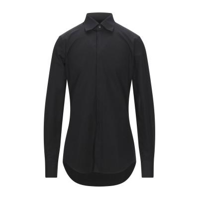 ディースクエアード DSQUARED2 シャツ ブラック 46 コットン 100% シャツ