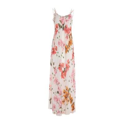 ピンコ PINKO ロングワンピース&ドレス ピンク 42 レーヨン 100% ロングワンピース&ドレス