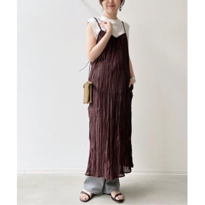 レディース アパルトモン 【R JUBILEE/アール ジュビリー】Camisole Dress ボルドー フリー