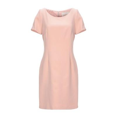 BOTTEGA MARTINESE ミニワンピース&ドレス ローズピンク 42 ポリエステル 86% / ポリウレタン 14% ミニワンピース&ドレス
