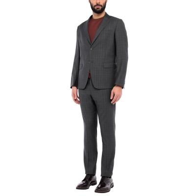 BRERAS Milano スーツ 鉛色 54 バージンウール 100% スーツ