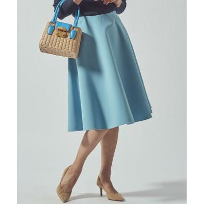 Viaggio Blu/ビアッジョブルー 【WEB別注カラーあり】スプリングサーキュラースカート ブルー XS