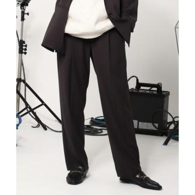 パンツ スラックス Color tapered pants