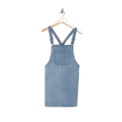 ラブファイヤ レディース ワンピース トップス Indigo Denim Overall Dress LUXE WASH