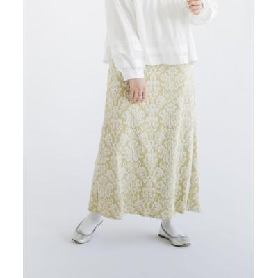 梅春カットジャガードスカート