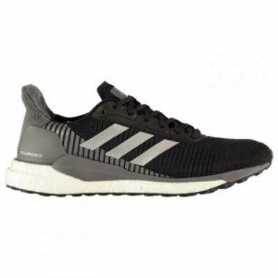 アディダス adidas メンズ スニーカー シューズ・靴 Solar Glide Trainers Black/Silver