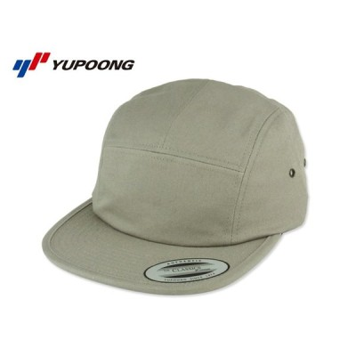☆FLEXFIT【フレックスフィット】YUPOONG Classic Jockey Camper Cap GREY クラシック キャンパーキャップ グレー 14957 [無地 シンプル メンズ レディース]